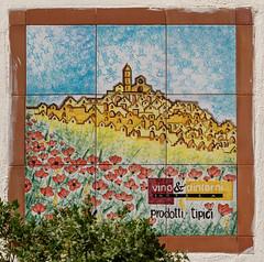 The streets of Matera (Leaning Ladder) Tags: matera italy italia basilicata sassi art colors tile canon 7d 7dmkii leaningladder