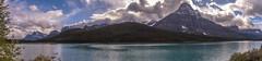 Mount Chephren and Upper Waterfowl Lake (www78) Tags: alberta banff canada icefieldsparkway nationalpark mount chephren upper waterfowl lake national park