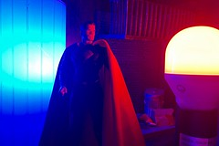 Man of Steel (misterperturbed) Tags: lifx superman mezcoone12collective mezco dccomics manofsteel justiceleague dceu one12collective phillipshue