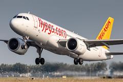 TC-NBN Pegasus Airlines Airbus A320-251N (buchroeder.paul) Tags: eham ams amsterdam schiphol airport flughafen the netherlands niederlande europe europa tcnbn pegasus airlines airbus a320251n