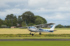 G-BXJM Cessna 152, Scone (wwshack) Tags: acsflighttraining ce152 cessna cessna152 egpt psl perth perthkinross perthairport perthshire scone sconeairport scotland firstsolo gbxjm