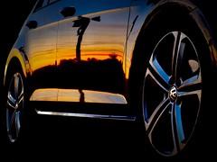 Sundownertrip (releAx) Tags: reflection spiegelung volkswagen vw sonnenuntergang sundown releax