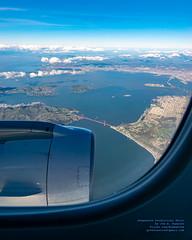 Viewing Northern San Francisco Bay From 11,425 Feet ASL (AvgeekJoe) Tags: aerialphotograph d5300 dslr e75l erj170200lr erj175 erj175lr embraer embraererj170200lr embraererj175 embraererj175lr n624qx nikon nikon1020mm nikon1020mmafpdxf4556gvr nikond5300 nikonnikkor1020mmafpdxf4556gvr aerial aerialphoto aerialphotography aircraft airplane aviation jetliner plane