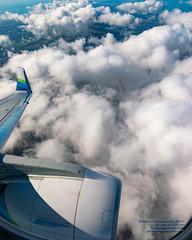 7400 Feet ASL Over Clouds Above Portola Redwoods State Park (AvgeekJoe) Tags: aerialphotograph d5300 dslr e75l erj170200lr erj175 erj175lr embraer embraererj170200lr embraererj175 embraererj175lr n624qx nikon nikon1020mm nikon1020mmafpdxf4556gvr nikond5300 nikonnikkor1020mmafpdxf4556gvr aerial aerialphoto aerialphotography aircraft airplane aviation jetliner plane