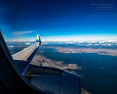 A 10mm Look Down at San Francisco Bay at 10,650 ft (AvgeekJoe) Tags: aerialphotograph d5300 dslr e75l erj170200lr erj175 erj175lr embraer embraererj170200lr embraererj175 embraererj175lr n624qx nikon nikon1020mm nikon1020mmafpdxf4556gvr nikond5300 nikonnikkor1020mmafpdxf4556gvr aerial aerialphoto aerialphotography aircraft airplane aviation jetliner plane
