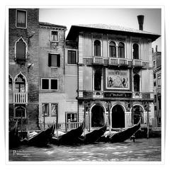 Palazzo Salviati, Venice 3 (John Panneman Photography) Tags: salviati palace grandcanal venice italy italia northernitaly panneman nikon d50 water gondola boat building canal palazzo
