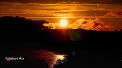 SU 3.7. mit Fotos (richardmak) Tags: sonnenuntergang abendrot abendstimmung faakersee