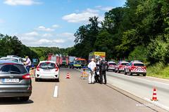 Lkw-Auffahrunfall A3 Medenbach 03.07.19 (Wiesbaden112.de) Tags: 3 a3 autobahn bab eingeklemmt feuerwehr lkwunfall notarzt polizei rettung rettungsdienst stauende stenzel unfall vku vu verkehrsunfall wiesbaden112 zusammenstos sst deutschland