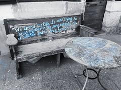 Un raggio di sole e una panchina libera (S. Beckett) Paris