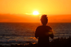 Sunset - El Golfo (Hilltopender) Tags: sunset spain canarias