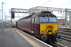 West Coast Railways 57313 (Will Swain) Tags: crewe station 31st march 2019 cheshire north west south county train trains rail railway railways transport travel uk britain vehicle vehicles england english europe transportation class coast 57313 57 313