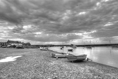 Burnham Overy Staithe (timcooper6) Tags: north norfolk burnham overy staithe black white
