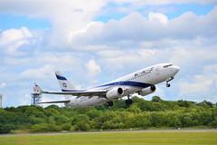 EL AL 737 (Gerry Rudman) Tags: elal israel 7378hxwl boeing 4xekf manchester