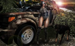 YOU'RE IN THE ARMY NOW (Rachel Swallows Inworld Elenamicheals Core) Tags: army cyber fashion military secondlife sintiklia war wiccasoriginals