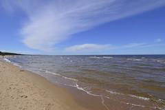 Balta kapa (olaf_alien) Tags: afs dx nikkor 1224mm f4 balta kapa pabaži saulkrastunovads latvija latvia saulkrasti lettland olafalien landscape sea blue sky clouds beach sand waves water nature nikon d3200