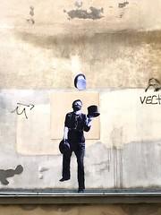 village Saint-Paul (Leo & Pipo) Tags: leo pipo paris streetart street art artwork collage affiche poster paste pasteup wheatpaste cut paper urbain urban city ville rue mur wall sticker stencil tag graffiti france retro vintage analog handmade mixed media dada surreal leopipo leoetpipo