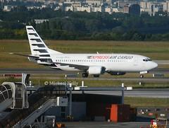Express Air Cargo                                      Boeing 737                                   TS-ICA (Flame1958) Tags: expressaircargo expressaircargob737 airfreight aircargo tsica cdg pariscdg 210619 0619 2019 1464