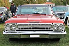 1962 Chevrolet Bel Air (crusaderstgeorge) Tags: crusaderstgeorge cars classiccars chrome americancars americanclassiccars americancarsinsweden högbo sweden sverige 1962chevroletbelair 1962 chevrolet bel air