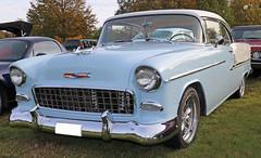 1955 Chevrolet    2403 sedan (crusaderstgeorge) Tags: crusaderstgeorge cars classiccars chrome americancars americanclassiccars americancarsinsweden högbo sweden sverige 1955chevrolet2403sedan 1955 chevrolet 2403 sedan