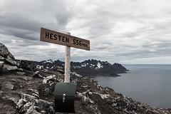 Hesten summit (jo.p138) Tags: senja norway hesten outside