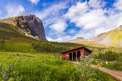 Start of Hesten trail (jo.p138) Tags: hesten senja norway outside landscape
