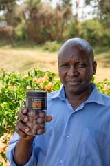 Chairman Charles with the Licorice (Coffee Collective) Tags: coffee kenya directtrade nyeri kieni mugaga karatina coffeecollective