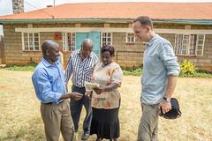 Margaret Mwangi holding a bag of Kieni coffee (Coffee Collective) Tags: coffee kenya directtrade nyeri kieni mugaga karatina coffeecollective