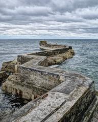 Breakwater (FotoFling Scotland) Tags: breakwater eastneuk fife firthofforth harbour scotlandscottish stmonans