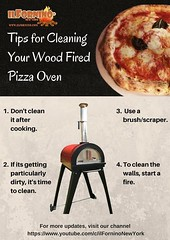 Tips for Cleaning Wood Fired Pizza Oven (chris.ilfornino) Tags: wood fired pizza oven