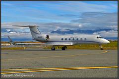 B-8137 Me & City (Bob Garrard) Tags: b8137 me city aerospace gvsp gulfstream g550 anc panc