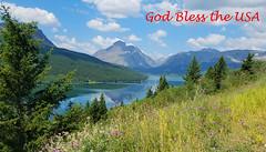 God Bless the U.S.A (Sun~Lover) Tags: 4thofjuly independenceday birthday unitedstatesofamerica glaciernationalpark twomedicinelake montana