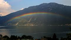 Limone-091 (NiBe60) Tags: italien gardasee lombardei prescia berg alpen limone sul garda gardesana occidentale regenbogen monte altissimo italy lake lombardy mountain alps occidental rainbow