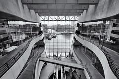 Black Diamond (Pat Charles) Tags: copenhagen denmark danemark kobenhavn københavn architecture architectural interior library