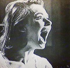 mpu (woodcum) Tags: gif gifanimation animation animated scream lady woman pullup man sportsman sport retro vintage