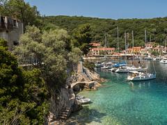 Kioni Harbour (Maria-H) Tags: harbour sea yacht kioni ithaca ithaki ionian islands greece olympus omdem1markii panasonic 1235