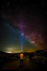Via lactea (tonygimenez) Tags: cielo vialactea estrellas nocturna zaragoza roden aragón largaexposición exposición colores luces