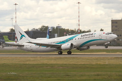 IMG_9061@L6 (Logan-26) Tags: boeing 7374q8 tctla msn 25107 tailwind airlines riga international rixevra latvia airport aleksandrs čubikins