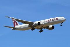A7-BAS - LGW (B747GAL) Tags: qatar boeing b7773dzer lgw gatwick egkk a7bas