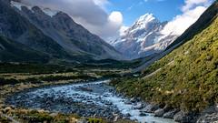 Aoraki (Mt Cook) (OJeffrey Photography) Tags: mtcook newzealand nz southisland mountains river aoraki hookerriver hookervalley panorama pano ojeffreyphotography ojeffrey jeffowens nikon d850