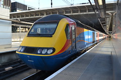 East Midlands Trains HST 43044 (Will Swain) Tags: leicester station 11th april 2019 london st pancras east midlands trains hst 43 train rail railway railways transport travel uk britain vehicle vehicles england english europe transportation class 43044 44 044