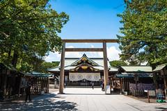 Yasukuni-jinja (Toine B.) Tags: tokyo yasukuni jinja shrine temple torii japan asia chiyoda