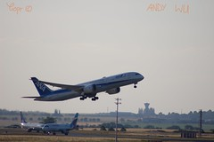 Boeing 787-9 All Nippon Airways (07/02/2019) (Starkillerspotter) Tags: ana dreamliner boeing 7879 cdg airport takeoff evening tokyo haneda sky airplane paris ja872a