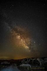 Via lactea (tonygimenez) Tags: cielo via lactea estrella nocturna larga exposición noche zaragoza aragón rodén