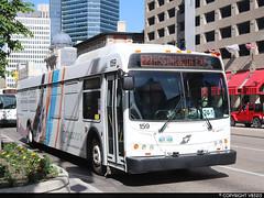 Winnipeg Transit #159 (vb5215's Transportation Gallery) Tags: winnipeg transit 2011 new flyer d40lfr