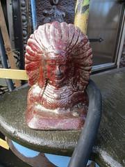Art Center Chief (jadedirishgryphon) Tags: metalwork metalsculpture sheboygan wisconsin