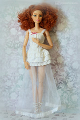 siobhán - ooak barbie by p4d (photos4dreams) Tags: dress barbie mattel doll toy photos4dreams p4d photos4dreamz barbies girl play fashion fashionistas outfit kleider mode puppenstube tabletopphotography shioban redhead siobhán