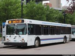Winnipeg Transit #590 (vb5215's Transportation Gallery) Tags: winnipeg transit 2003 new flyer d40lf