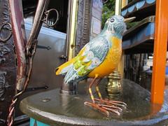 Art Center Bird (jadedirishgryphon) Tags: metalwork metalsculpture sheboygan wisconsin