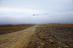 Эх, дороги, пыль да туман... (maximych club Nikon) Tags: чукотка тундра дорога туман пыль