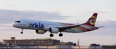 4X-AGK Arkia - Israeli Airlines Airbus A321-251NX (Niall McCormick) Tags: dublin airport eidw aircraft airliner dub 4xagk arkia israeli airlines airbus a321251nx a321lr neo